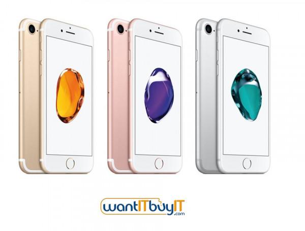 """ابل اي فون 7 - 32GB / 4.7 """"الشبكية / واي فاي / 4G / لون الذهب"""
