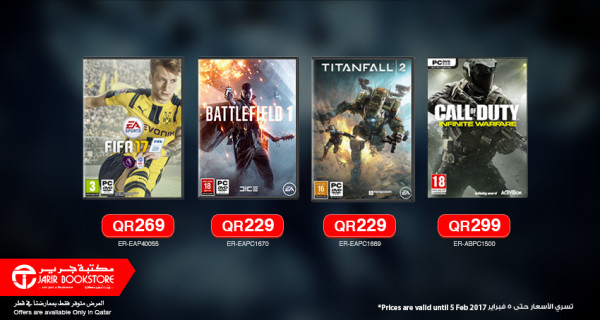The latest PC games at great prices