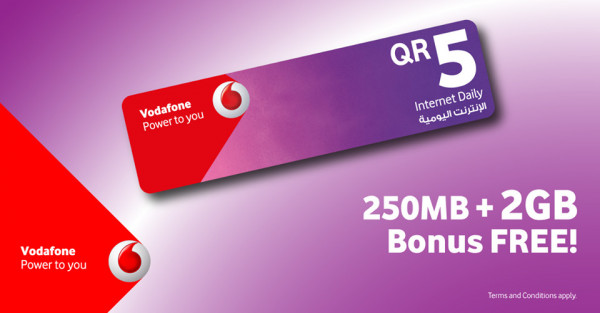 Enjoy an extra 2GB FREE