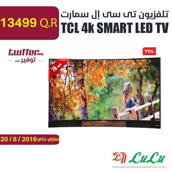 TCL 4k SMART LED TV