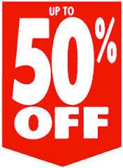 Offers PIAZA ITALIA - 50% OFF