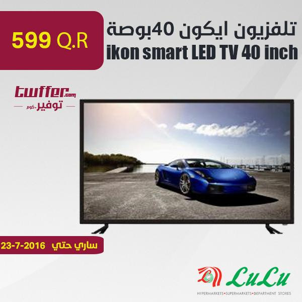 ikon smart LED TV 40 inch